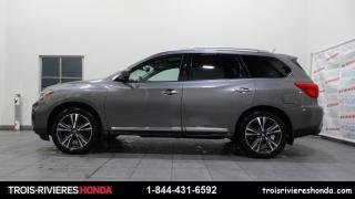 Used 2017 Nissan Pathfinder PLATINUM + AWD + CUIR + TOIT + GPS ! for sale in Trois-Rivières, QC