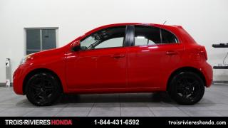 Used 2016 Nissan Micra SV + MAGS + A/C + CRUISE ! for sale in Trois-Rivières, QC