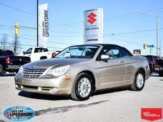 Used 2008 Chrysler Sebring Touring Convertible ~Nav ~Leather ~Power Seat for sale in Barrie, ON