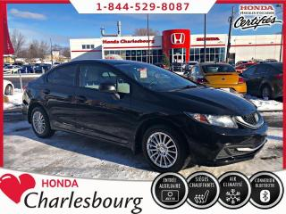 Used 2013 Honda Civic LX AUTOMATIQUE**BANCS CHAUFFANT** for sale in Charlesbourg, QC