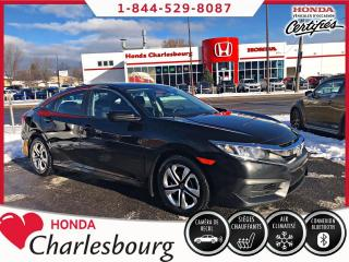 Used 2017 Honda Civic LX AUTOMATIQUE **0 ACCIDENT** for sale in Charlesbourg, QC