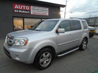 Used 2009 Honda Pilot EX-L**7 PLACES**CUIR**BAS KILOMÉTRAGE**3 for sale in St-Hubert, QC