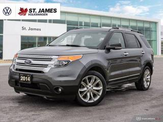 Used 2014 Ford Explorer XLT, Leather Seats, Heated Seats, Backup Camera, for sale in Winnipeg, MB