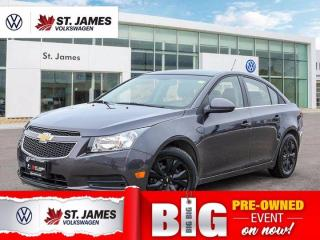 Used 2011 Chevrolet Cruze LT Turbo w/1SA, Clean Carfax, One Owner,  Keyless Entry for sale in Winnipeg, MB