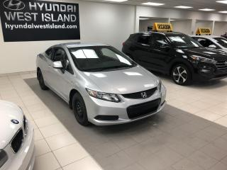 Used 2013 Honda Civic LX COUPÉ AUTO A/C CRUISE BT SIÈGES CHAUF for sale in Dorval, QC