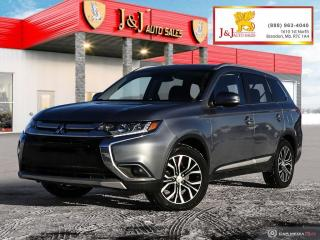 Used 2016 Mitsubishi Outlander GT,AWC,6Pass. for sale in Brandon, MB
