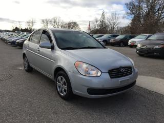 Used 2009 Hyundai Accent AUTO GL for sale in London, ON