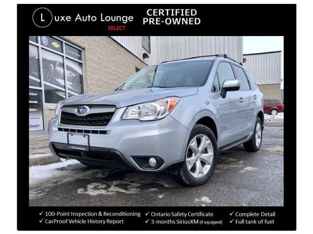 2015 Subaru Forester CONVENIENCE, AWD, HEATED SEATS, BACK-UP CAMERA!!