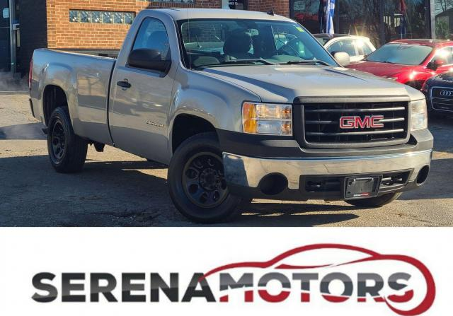2008 GMC Sierra 1500 WT | V8 | 8 ft. BOX | AC |  NO ACCIDENTS | LOW KM