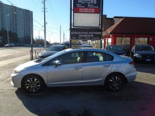 Used 2015 Honda Civic EX/ PUSH START / SUNROOF / HEATED SEATS / ALLOYS/ for sale in Scarborough, ON