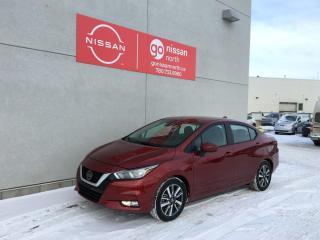 New 2021 Nissan Versa SV / DEMO/BLIND SPOT/LANE DEPARTURE/KEYLESS ENTRY/NISSAN CONNECT for sale in Edmonton, AB