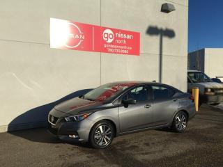 New 2021 Nissan Versa SV/BLIND SPOT/LANE DEPARTURE/KEYLESS ENTRY/NISSAN CONNECT for sale in Edmonton, AB