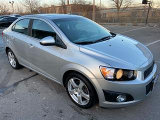 Used 2015 Chevrolet Sonic 2LT ** BACK CAM, HTD SEATS, AUTOSTART ** for sale in St Catharines, ON