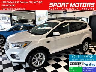 Used 2017 Ford Escape SE 4WD+GPS+Leather+Roof+ApplePlay+ACCIDENT FREE for sale in London, ON