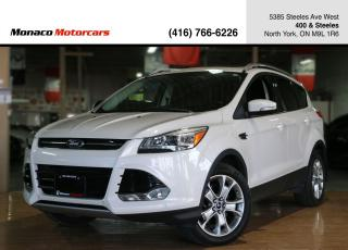 Used 2015 Ford Escape TITANIUM 4WD - LEATHER|PANO|NAVI|BACKUP|BLINDSPOT for sale in North York, ON