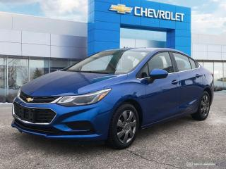 Used 2018 Chevrolet Cruze LT Heated Seats | Bluetooth | Rear View Camera for sale in Winnipeg, MB