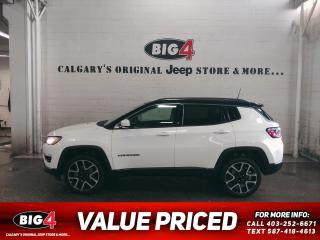 Used 2017 Jeep Compass LIMITED for sale in Calgary, AB