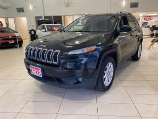 Used 2015 Jeep Cherokee 4x4 North for sale in Waterloo, ON