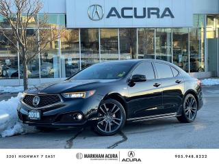 Used 2018 Acura TLX 3.5L SH-AWD w/Tech Pkg A-Spec Red for sale in Markham, ON