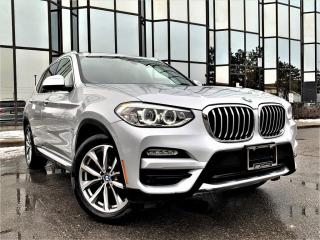 Used 2019 BMW X3 XDRIVE PANORAMIC AMBIENT LIGHTS HEATED MEMORY SEATS ALLOYS! for sale in Brampton, ON