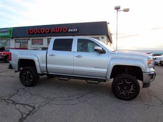 Used 2014 GMC Sierra 1500 SLE Crew Cab 4WD V8 5.3L Lifted Camera Certified for sale in Milton, ON