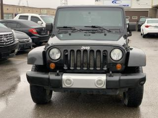 Used 2008 Jeep Wrangler 4WD Unlimited Sahara  /1 YEAR ENGINE/TRANSMISSION WARRANTY for sale in Brampton, ON
