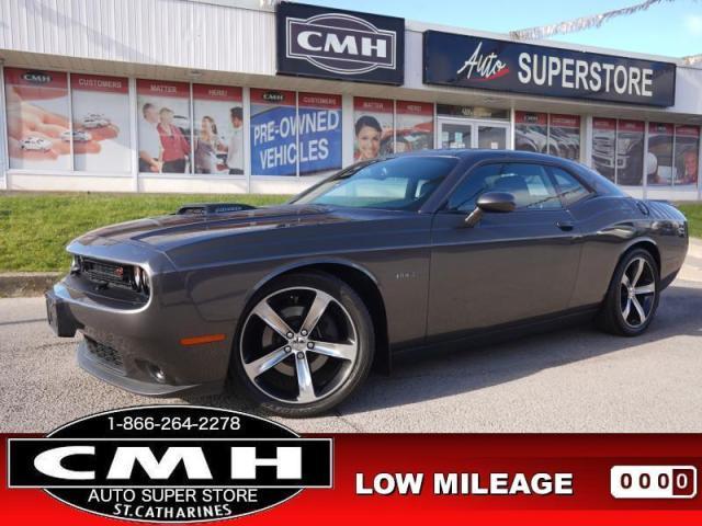 2016 Dodge Challenger R/T  HEMI CAM HTD-S/W RED-LEATH