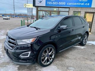 Used 2016 Ford Edge Sport | AWD | LOW KMS | PANO ROOF | ADAPTIVE CRUISE | BLIND SPOT | for sale in Barrie, ON