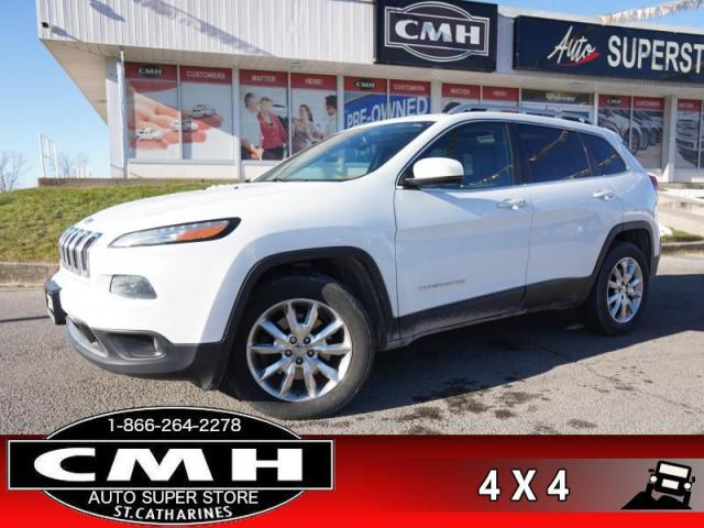 2014 Jeep Cherokee Limited  V6 4WD NAV CAM ROOF HTD-S/W P/SEAT