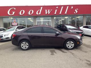 Used 2015 Chevrolet Cruze LT! CLEAN CARFAX! REMOTE START! CAMERA! BT! for sale in Aylmer, ON