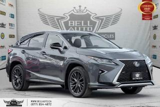 Used 2016 Lexus RX 350 F-SPORT 2, NO ACCIDENTS, AWD, NAVI, REAR CAM, SUNROOF for sale in Toronto, ON