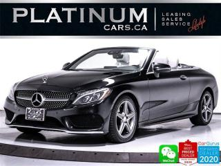 Used 2017 Mercedes-Benz C-Class C300 4MATIC, CONVERTIBLE, AWD, NAVI, CAM, HEATED for sale in Toronto, ON