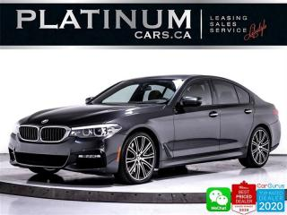 Used 2017 BMW 5 Series 540i xDrive, MSPORT, NAV, SUNROOF, HEATED, BT for sale in Toronto, ON