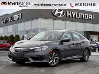 Used 2018 Honda Civic Sedan EX  - $125 B/W for sale in Kanata, ON