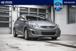 Used 2017 Hyundai Accent LE chez Rimouski Hyundai for sale in Rimouski, QC