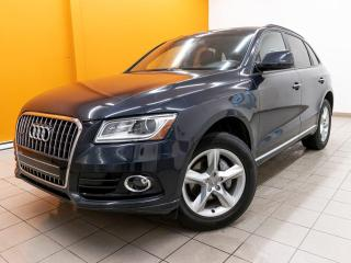 Used 2017 Audi Q5 2.0T QUATTRO  CUIR BRUN *TOIT PANO* for sale in St-Jérôme, QC