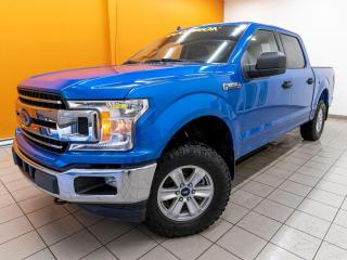 Used 2020 Ford F-150 XLT CREW 4X4 GR. REMORQUAGE CAMÉRA *BAS KM* for sale in St-Jérôme, QC