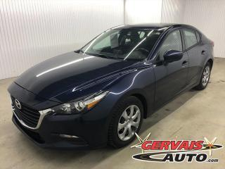 Used 2017 Mazda MAZDA3 GX A/C GPS BLUETOOTH CAMÉRA *Transmission Automatique* for sale in Shawinigan, QC