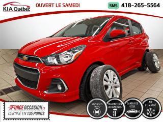 Used 2016 Chevrolet Spark 1LT* AT* TOIT OUVRANT* CARPLAY* CAMERA* for sale in Québec, QC