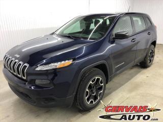 Used 2016 Jeep Cherokee Sport V6 4x4 *Bas Kilométrage* for sale in Shawinigan, QC