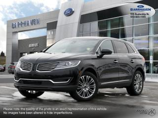 Used 2017 Lincoln MKX Reserve for sale in Ottawa, ON