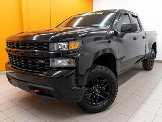 Used 2019 Chevrolet Silverado 1500 CUSTOM TRAIL BOSS 4X4 CAMÉRA GR. REMORQ *BAS KM* for sale in Mirabel, QC