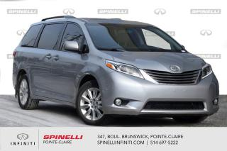 Used 2015 Toyota Sienna 5dr XLE 7-Pass AWD / BAS KMS / CUIR / TOIT BAS KMS - CUIR - TOIT for sale in Montréal, QC
