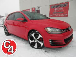 Used 2016 Volkswagen Golf GTI CUIR NAVY TOIT AUTOBAHN for sale in St-Jérôme, QC