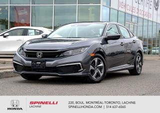 Used 2020 Honda Civic LX COMME NEUF AUTO 12 000KM AUTO CRUISE BLUETOOTH HONDA SENSING for sale in Lachine, QC