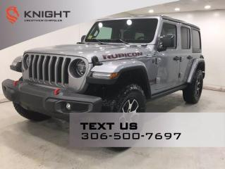New 2021 Jeep Wrangler Rubicon Unlimited | Leather | Navigation | for sale in Regina, SK