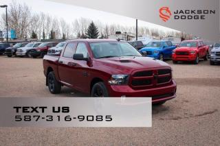 New 2020 RAM 1500 Classic Black Express Crew Cab | Sub Zero Package | for sale in Medicine Hat, AB
