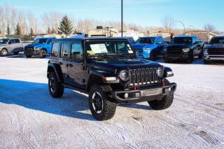 New 2021 Jeep Wrangler Rubicon Unlimited   EcoDiesel   Leather   Navigation   for sale in Medicine Hat, AB