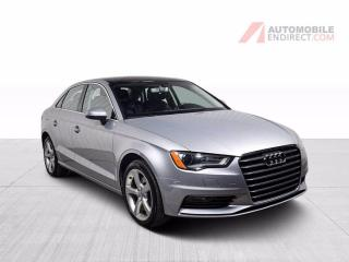 Used 2016 Audi A3 KOMFORT QUATTRO CUIR TOIT MAGS for sale in St-Hubert, QC