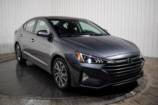 Used 2020 Hyundai Elantra luxury cuir toit ouvrant mags caméra de recul for sale in St-Hubert, QC